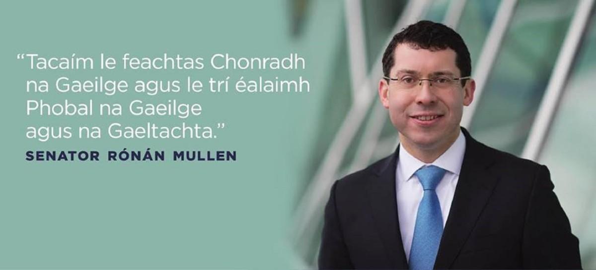 Senator Rónán Mullen
